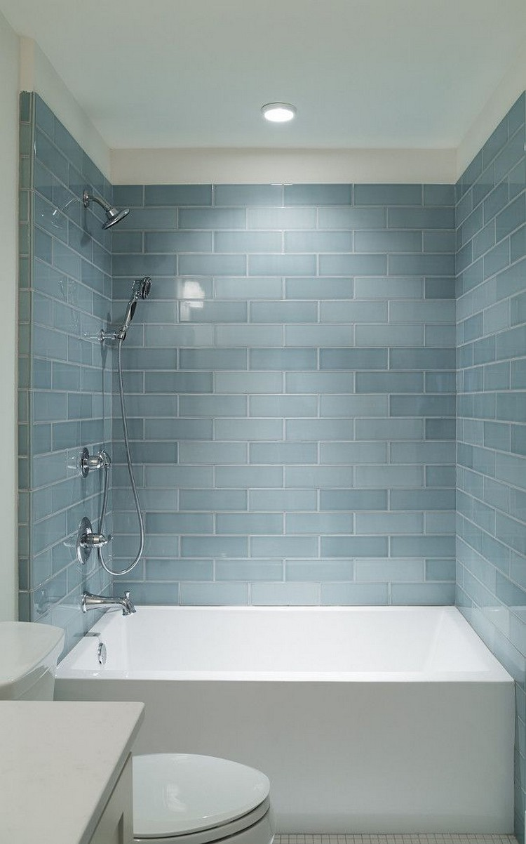 80+ Exciting Bathroom Shower Tile Ideas
