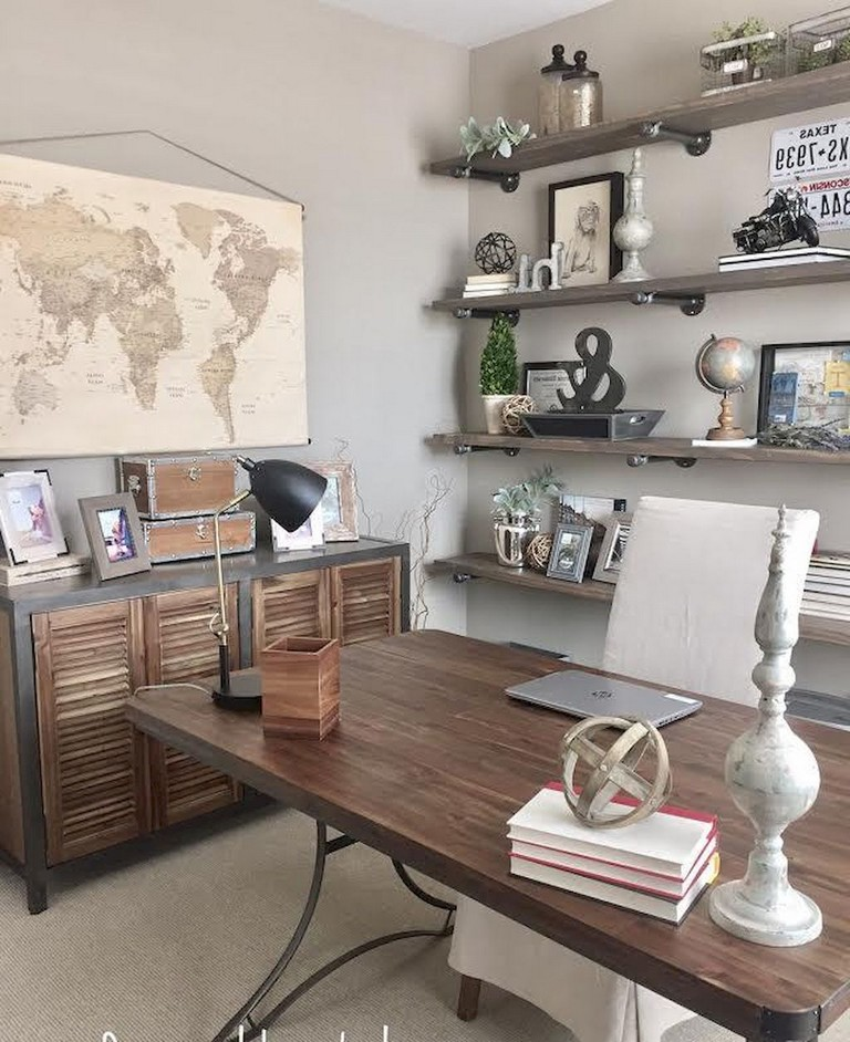 Cozy Home Office: 17+ Cozy Home Office Makover Ideas