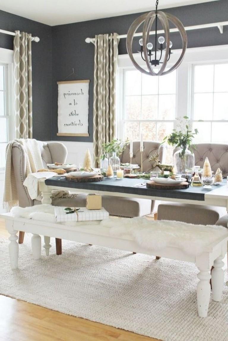 35 Stunning Contemporary Living Room Design Ideas: 35+ Stunning Modern Farmhouse Dining Room Decorating Ideas