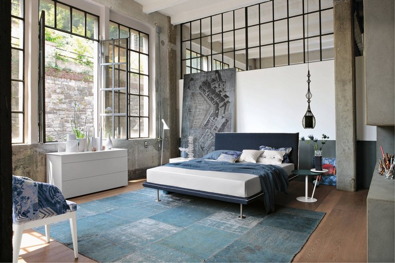 45 Good Industrial Style Bedroom Design