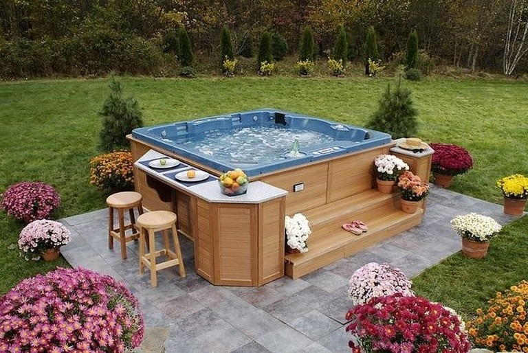 55+ Good Backyard Hot Tubs Decoration Ideas - Page 13 of 61