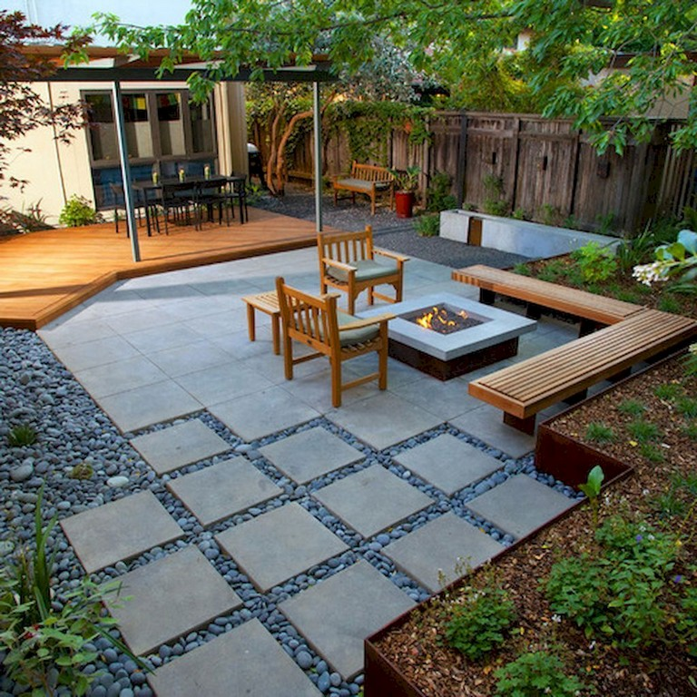 50 Astonishing Modern Backyard Landscaping Design Ideas