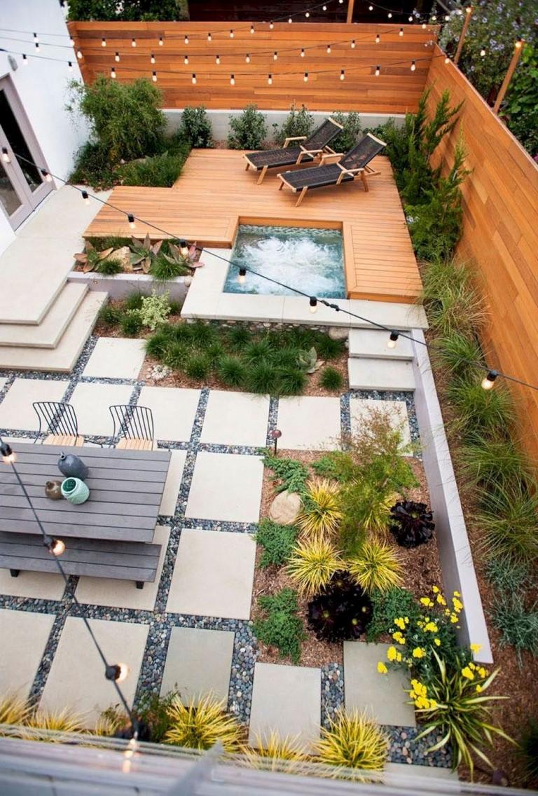 50 Astonishing Modern Backyard Landscaping Design Ideas Page 3 Of 50