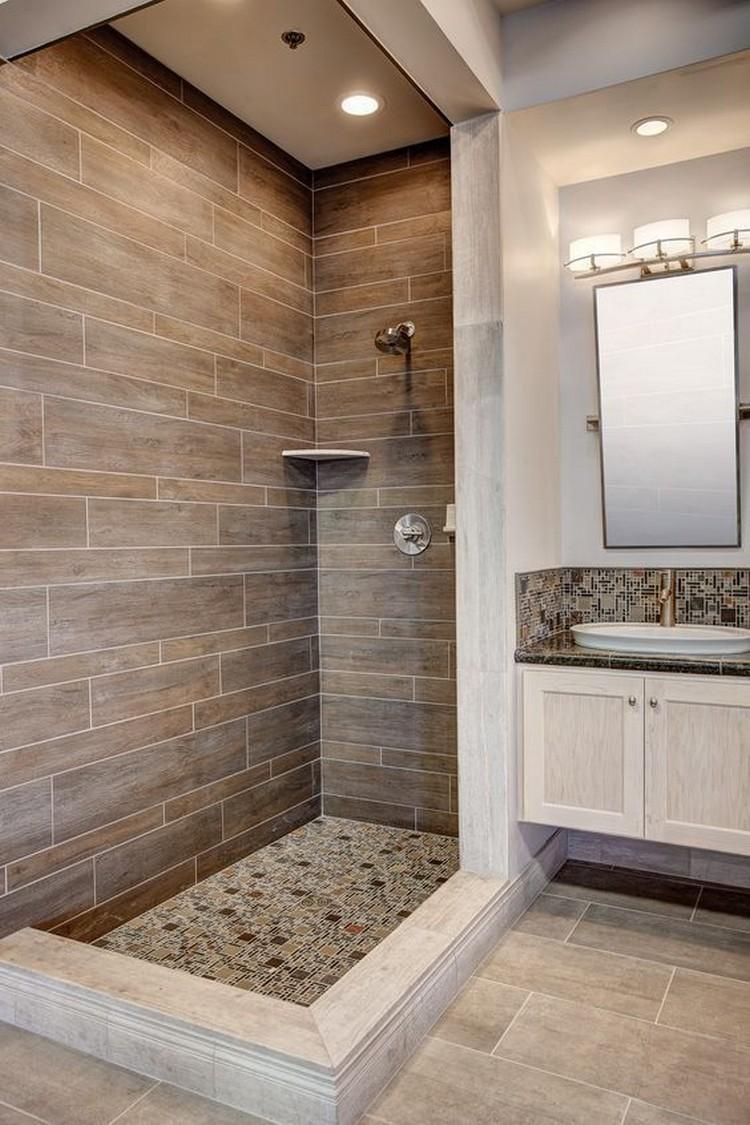 80 exciting bathroom shower tile ideas