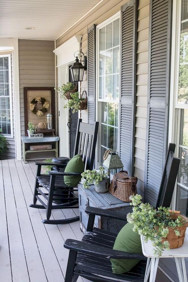 55+ Luxury Farmhouse Front Porch Decor Ideas