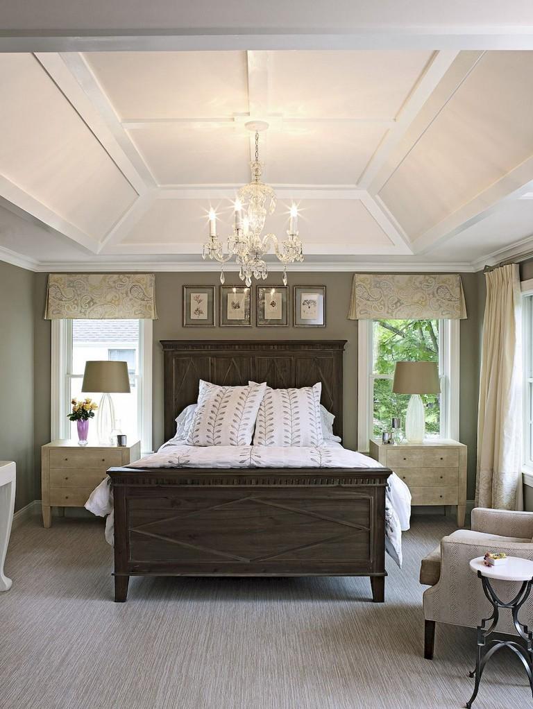 35 Good Urban Farmhouse Master Bedroom Makeover Ideas on Master Bedroom Farmhouse Bedroom Images  id=71849